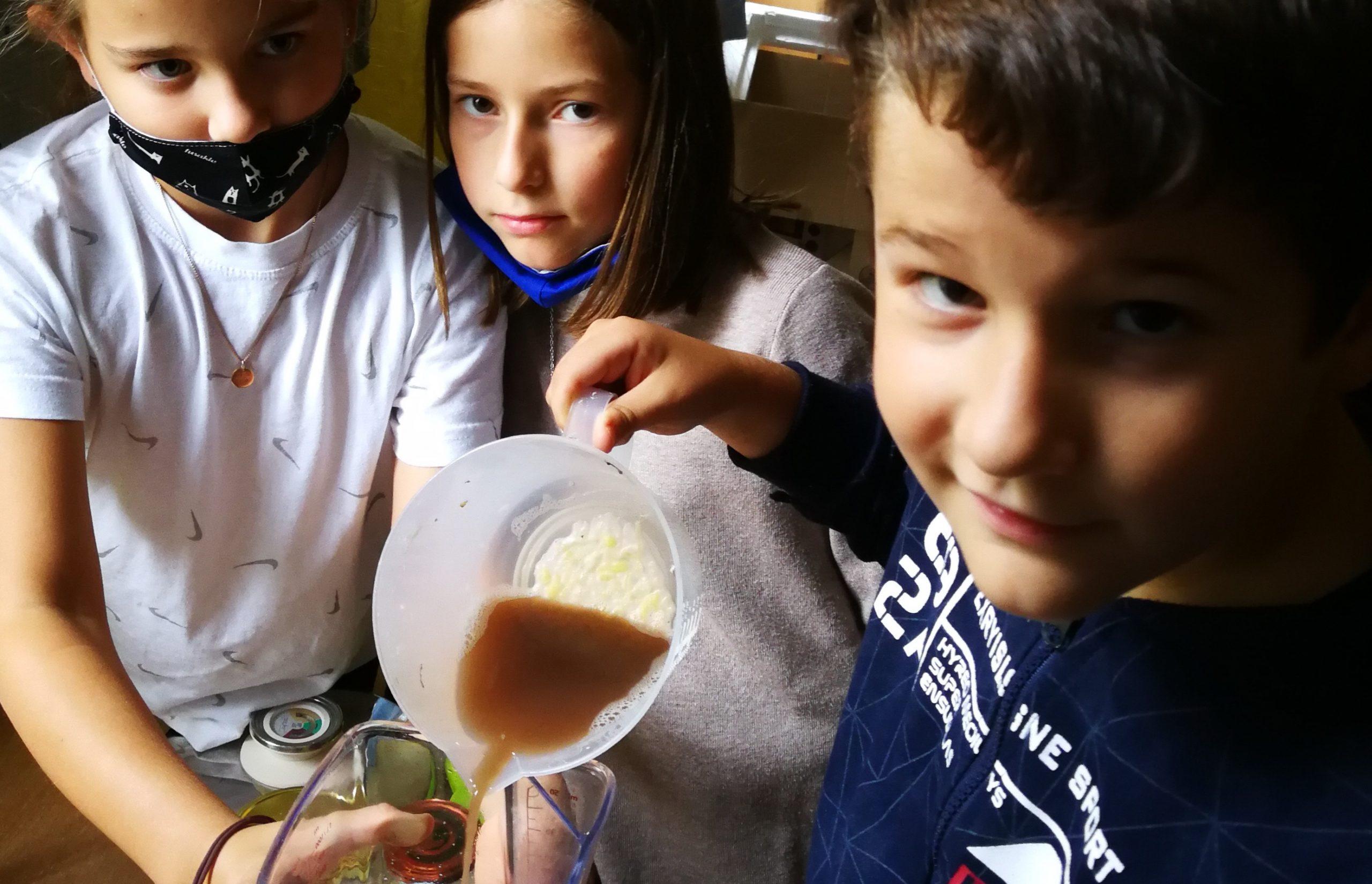 Kartoffelkleister machen