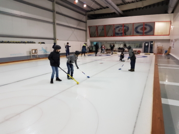 Wintersporttag Gymnasium Curling